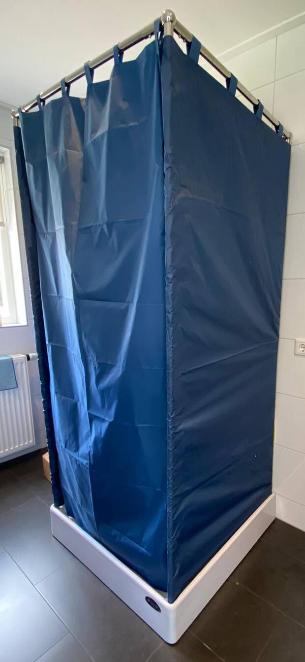 Verbouwing van woning of badkamer. Een tijdelijke nooddouche huren is de oplossing